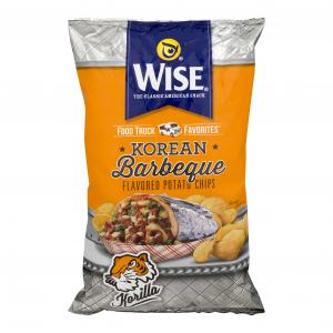 Wise Korean Barbeque Flavored Potato Chips