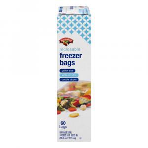 Hannaford Gallon Recloseable Freezer Bags