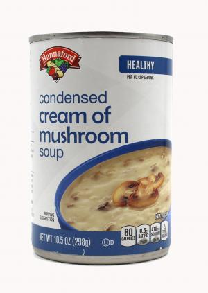 Hannaford Condensed Cream of Mushroom Soup