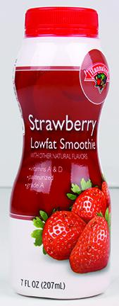 Hannaford Strawberry Lowfat Smoothie