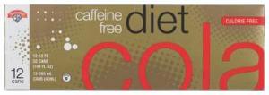 Hannaford Caffeine Free Diet Cola
