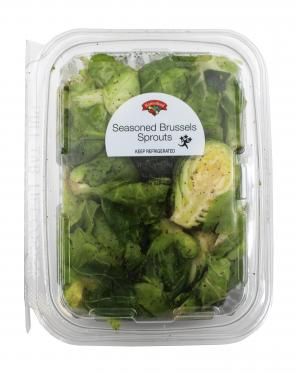 Hannaford Seasoned Brussels Sprouts