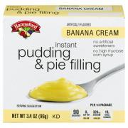 Hannaford Banana Cream Pudding Mix