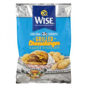 Wise Grilled Cheeseburger Flavored Potato Chips