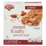 Hannaford Sweet & Salty Almond Bars