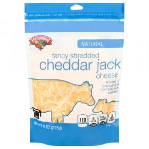 Hannaford Fancy Cheddar Jack Shredded Cheese