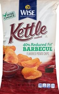 Wise Kettle Reduced Fat Bbq Chips