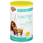 Hannaford Lemon Flavor Iced Tea Mix