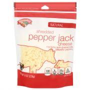 Hannaford Pepper Jack Shredded Cheese