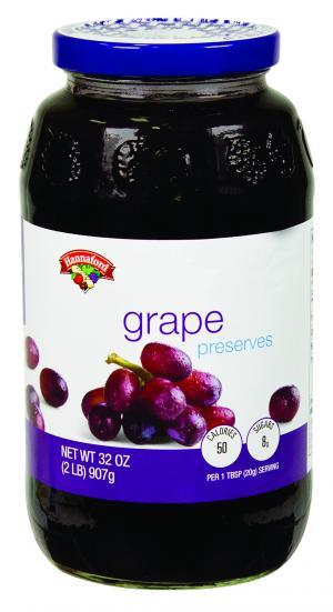 Hannaford Grape Preserves