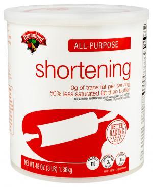 Hannaford Vegetable Shortening