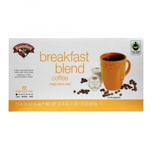 Hannaford Breakfast Blend Coffee Single ServeCup