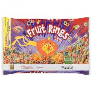 Hannaford Fruit Rings Cereal