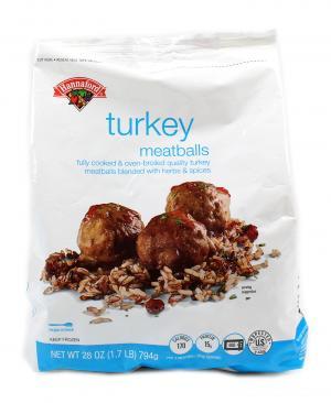 Hannaford Turkey Meatballs