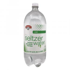Hannaford Lime Seltzer Water