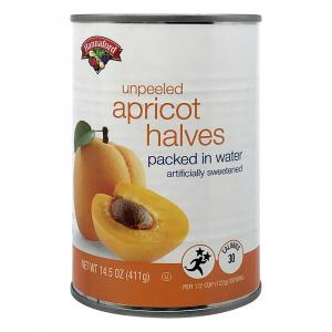 Hannaford Apricot Halves in Splenda