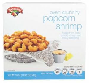 Hannaford Popcorn Shrimp