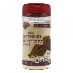 Hannaford Grated Parmesan Romano Cheese