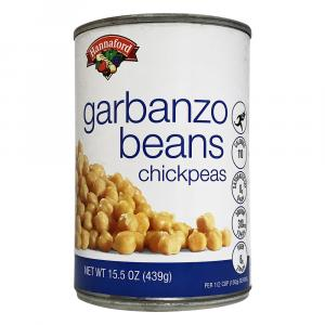 Hannaford Garbanzo Beans Chickpeas