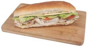 Hannaford Turkey & Cheese Sub