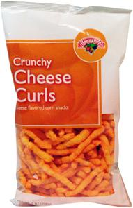Hannaford Crunchy Cheese Curls