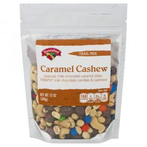 Hannaford Caramel Cashew Trail Mix