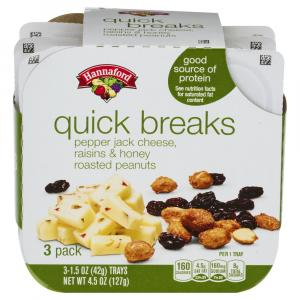 Hannaford Quick Breaks Pepper Jack