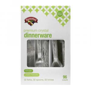 Hannaford Premium Crystal Dinnerware