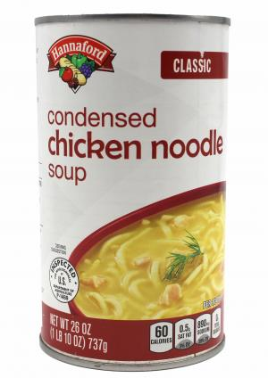 Hannaford Classic Condensed Chicken Noodle Soup