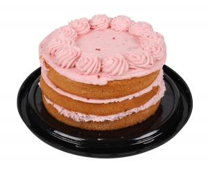 "Hannaford 6.5"" Triple Layer Strawberry Cake"