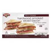 Hannaford Fully Cooked Bacon
