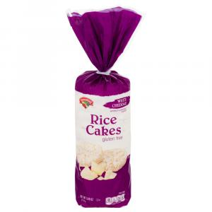 Hannaford White Cheddar Rice Cakes