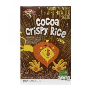 Hannaford Cocoa Crisp Rice Cereal