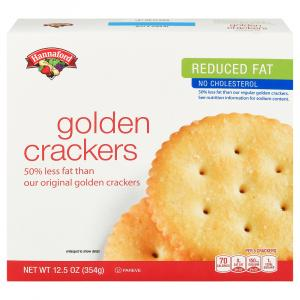 Hannaford Reduced Fat Golden Snack Cracker Rounds