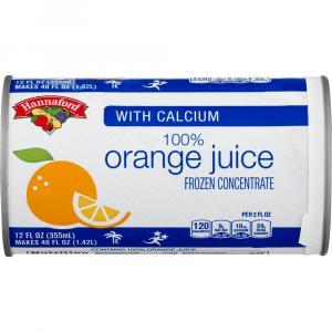 Hannaford Frozen Orange Juice with Calcium