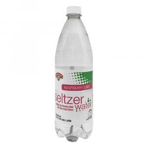 Hannaford Raspberry Lime Seltzer Water