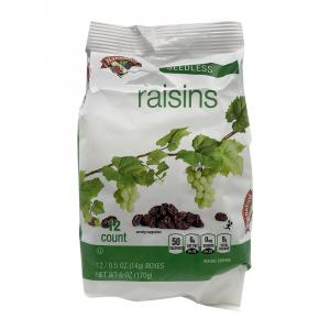 Hannaford Snack Pack Raisins