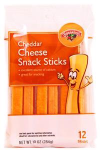 Hannaford Cheddar Cheese Snack Sticks
