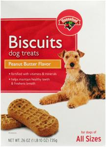 Hannaford Small Peanut Butter Flavored Dog Biscuits