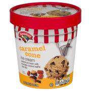 Hannaford Caramel Cone Ice Cream