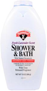 Hannaford Lavender Shower & Bath Powder