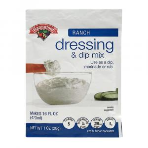 Hannaford Ranch Dip and Dressing Packet