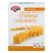Hannaford Cheddar Cheese Crackers