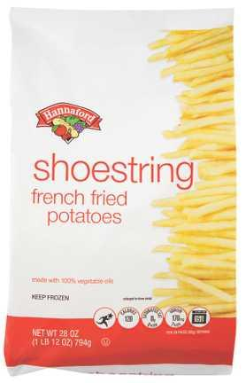 Hannaford Shoestring French Fries
