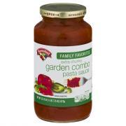 Hannaford Garden Combo Pasta Sauce