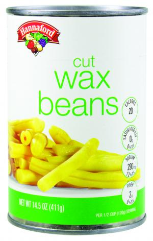 Hannaford Cut Wax Beans