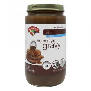 Hannaford Beef Gravy Jar