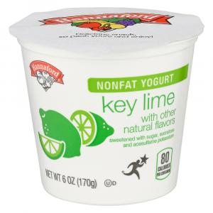 Hannaford Nonfat Yogurt Key Lime