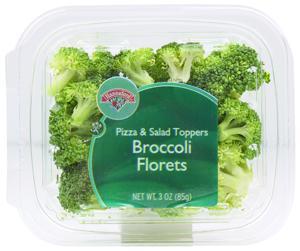 Hannaford Salad Toppers Broccoli Florets