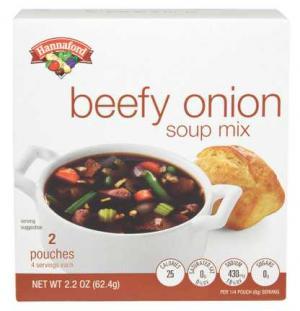 Hannaford Beefy Onion Soup Mix